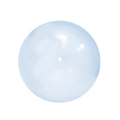 Hete-supply Zachte Opblaasbare Bubble Toy Bal Oversized Opblaasbare Ball Toy TPR Transparant Beach Bubble Bal Gevuld met Water Ballon Stretch Stevige Bal Kids Speelgoed