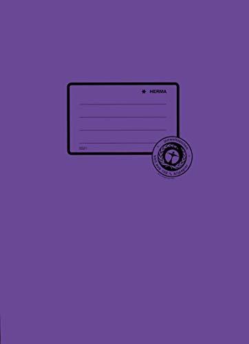 Heftschoner Papier A4 violett