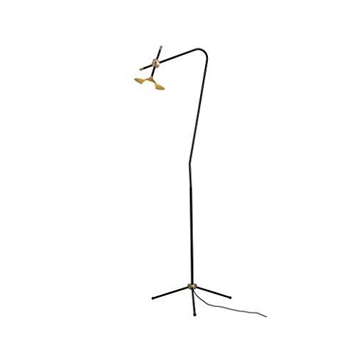 Staande lamp LED persoonlijkheid modern design driepoot smeedijzeren vloerlamp glazen scherm staande lamp slaapkamer woonkamer