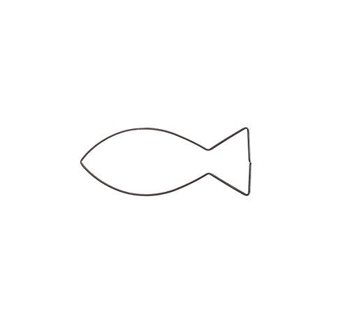 Christen - Fisch 4,8 cm Ausstecher Ausstechform Keksausstecher Edelstahl
