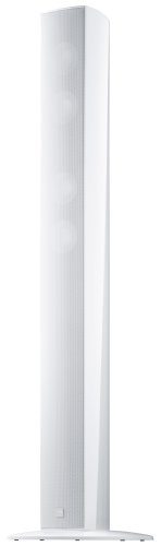 Canton CD 300 2,5-Wege Bass-Reflex Stand-Lautsprecher (110/170 Watt, 87,5 dB) Stück - weiß highgloss