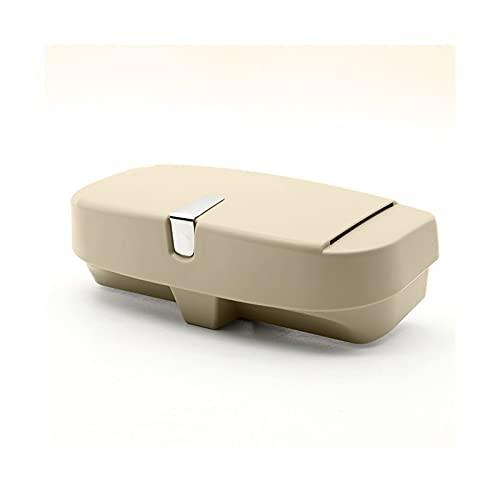 XIAOQIN BOMY Ajuste para Visa Universal Visera Gafas de Sol Caja Caja de Coche Caja Caja de Coche Sombrero Clip Clip Multifuncional Caja de Almacenamiento Caja de Almacenamiento Caja Organizador