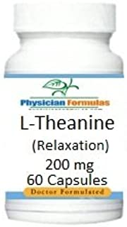4 Bottles L-Theanine, 200 mg, 60 Capsules, Relaxation & Sleep Support, Formulated by Ray Sahelian, M.D