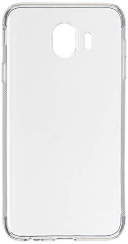 Capa para Samsung Galaxy J4 2018, Cell Case, Capa para Samsung Galaxy J4 2018, Capa Protetora Flexível, Transparente