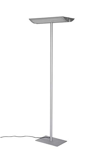 Maul Büro Standleuchte MAULaludra, 4 x 14 Watt, Fuß Mittig, Höhe 190 cm, Silber, 8256595