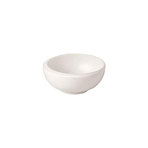 Villeroy & Boch - NewMoon Dipschälchen, kleine Schale für köstliche Dips und Fingerfood, Premium Porzellan, weiß, spülmaschinengeeignet