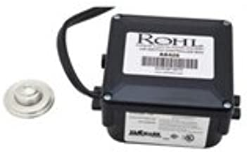 Rohl Allia Air Activated Switch Button with Control Box for Waste Disposal in Polished Nickel