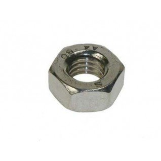 M3 Full Nut (50 Pack) 3mm A2 Stainless Steel Hex Hexagon Nuts Free UK Delivery by DBA Hardware