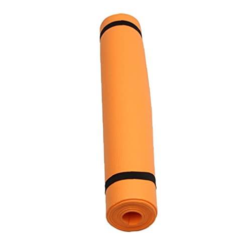Alfombra De Yoga, Colchoneta Clásica Pro Yoga Ligero TPE Eco Amigable Sin Resbalón Fitness Fitness Mat para Fitness Orange
