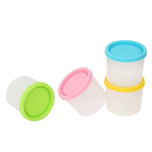 Recipiente De Silicona Para Almacenamiento De Alimentos, Sin BPA Recipientes Para Almacenamiento De Alimentos Para Bebés Sin Olores Conveniente Para Llevar Seguro Taza De Almacenamiento De(180ml)