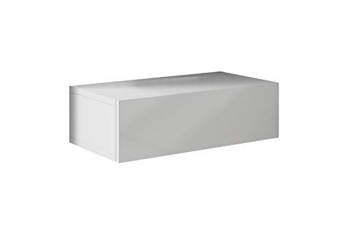 muebles bonitos – Pack de 2 Mesitas de Noche Europa Color Blanco