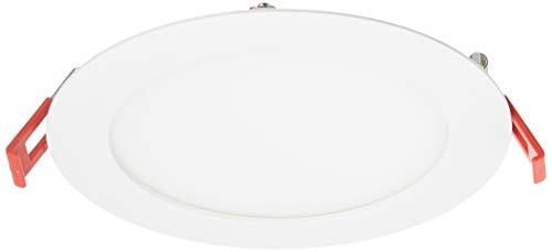 Lithonia Lighting WF6 LL 27K30K35K 90CRI MW M6 LED Color Temperature Selectable Ultra Thin Recessed Downlight, 2700K | 3000K | 3500K, 6-Inch, Matte White