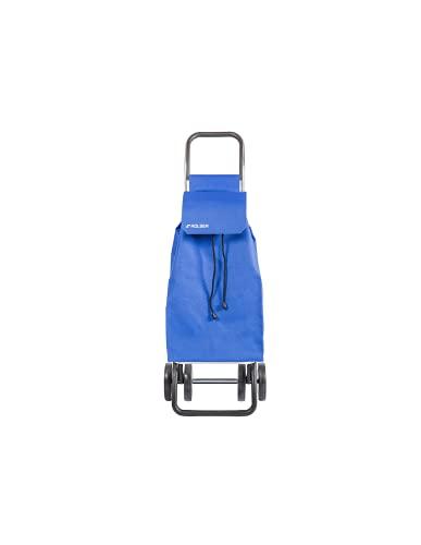 Rolser Carrello Saquet LN 4 Ruote - Blu