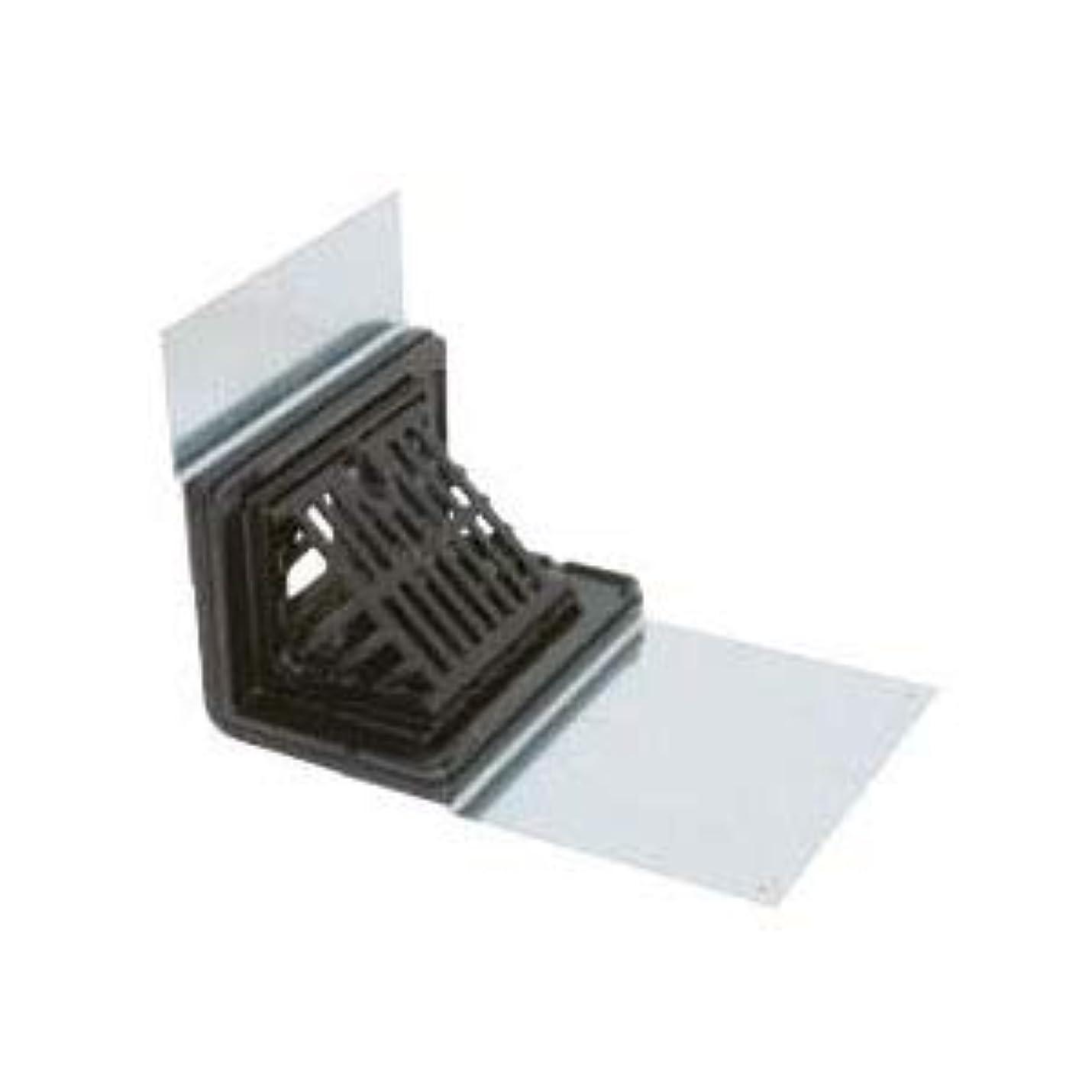 唯一子音大量カネソウ 鋳鉄製ルーフドレイン よこ引き用 鋼製下地断熱屋根工法用 屋上用(呼称100) EXS-6-100