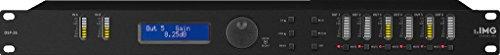 IMG STAGELINE DSP-26 digitale luidsprekermanagement, controller met moderne DSP-processoren en digitale omvormers, equalizer met 2 ingangen en 6 uitgangen, in zwart