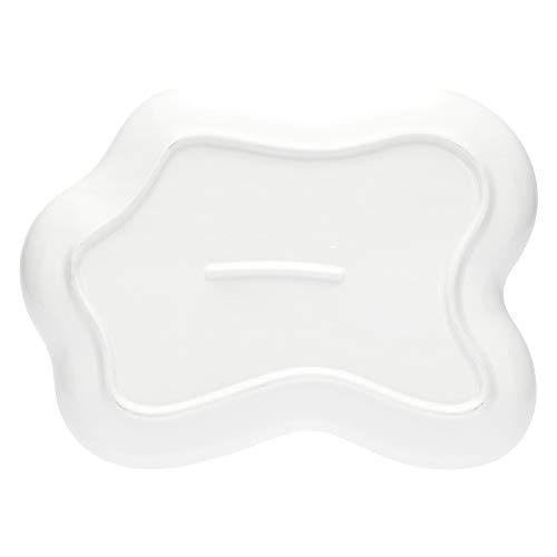 THUN ® - Antipastiera Sagomata - Linea Chiaro di Luna - Porcellana - 30,5x21x3 h cm