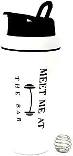 Shaker Protéine Bouteille d'eau pour Sport en Acier Inoxydable avec Isolation Thermique 0.7L BPA Free