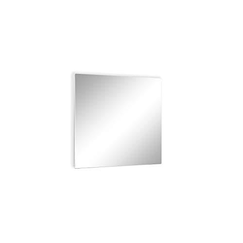 ETHERMA LAVA® spiegel-infraroodverwarming, 250 W, 63 x 50 x 3 cm, oppervlak: spiegel van 6 mm ESG-veiligheidsglas, Made in Austria, TÜV, 5 jaar garantie, echte spiegel, LAVA2-GLAS-250-MR