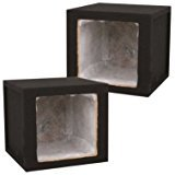 Absolute KSB15S 15-Inch Single Square Hole Subwoofer Enclosure for Kicker Solo-Baric Subwoofer