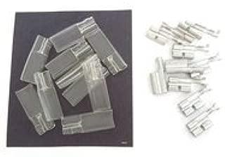 Triple 3.5mm Bullet Terminal Kit - 10 Pack - Motorcycle Wiring Repair Wire Connector