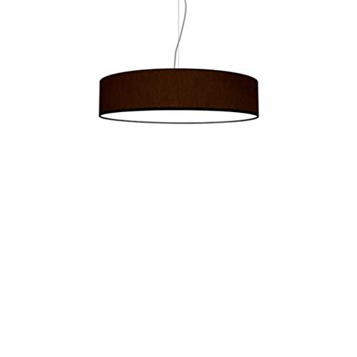 Lampadario a Sospensione Moderno Roary Slim Made in Italy ideale per case moderne diametro 50 di colore Testa di Moro - Olux Illuminazione