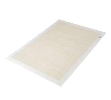 Winco SBS-21 Square Baking Mat, 15-3/8 X 21-1/2 In, Fits 2/3 Size Sheet Pan, Silicone - Baking