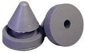 Hinge Outlet Door Silencer, Heavy Duty Rubber 1/2 Inch Diameter, for Metal and Wood Doors, 15 Pack
