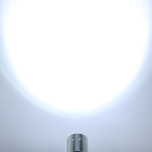 Linterna de buceo T6 linterna led impermeable, para actividades al aire libre, para viajes en barco, buceo