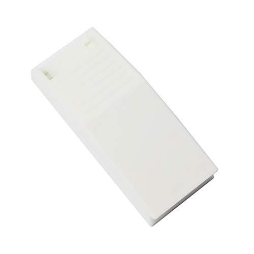 We-Ball Tablettenteiler für kleine Tabletten, mit Edelstahlklinge für präzises schneiden von Medikamenten in blau oder weiß (Weiß)