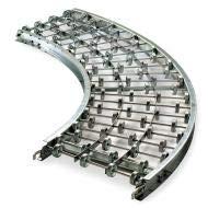 New Ashland Conveyor Skatewheel Conveyor, 90 Curve, 12in. W - 12X10X90A