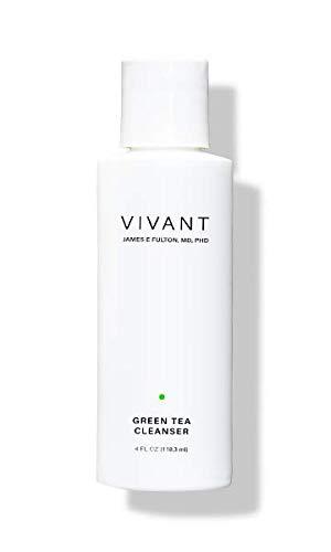 Vivant Skin Care Green Tea Cleanser, 4 ounce