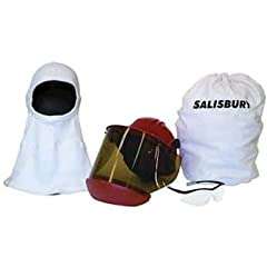 Color: White Description: Salisbury by Honeywell SKA10 Arc Flash Protective Helmet and Face Shield Kit Material: Indura UltraSoft Number Of Items: 1