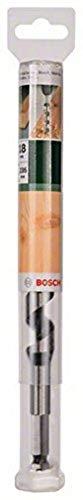 Bosch 2609255244 Wood Auger Drill Bit with Self-Cutting Threaded Point/Diameter 18mm