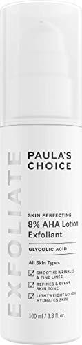 Paula's Choice Skin Perfecting 8% AHA Loción Exfoliante - Peeling Facial Antiarrugas y Combate las Manchas - con Ácido Glicólico - Pieles Normales a Secas - 100 ml