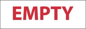 NMC M55R Rigid Plastic Cylinder pcs Pack 50 of Sign