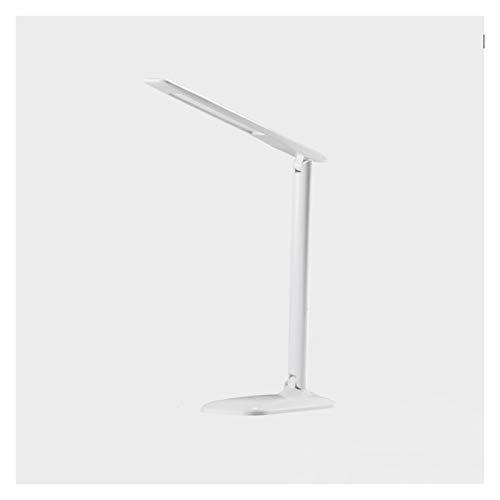 Lámpara de mesa Lámpara de escritorio con 4 niveles de brillo Lámpara de escritorio LED regulable Lámparas de lectura de control táctil para el estudio de la oficina de oficina en el hogar, luz blanca
