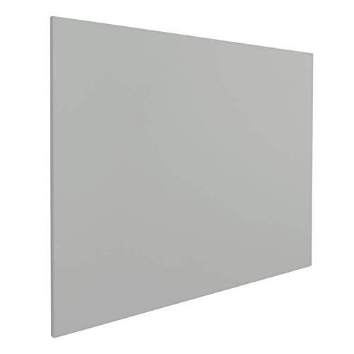 Vivol Eco Magnetic Whiteboard 90x120 Grau | Rahmenlos Design | Magnettafel Whiteboardwand Magnetwand | ohne Rahmen | 8 Größen | Hoch- und Querformat
