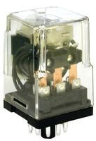 Power Relay, 3PDT, 48 VDC, 10 A, KRPA Series, Socket, Non Latching