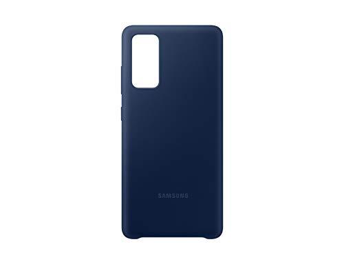 Cover in silicone per Samsung Galaxy S20 FE, colore: Blu marino