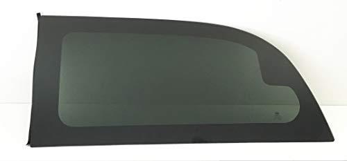 Movable Driver Left Side Quarter Window Quarter Glass Compatible with Dodge Grand Caravan 2008-2019 Models
