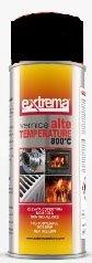 Bomboletta vernice spray NERO 800 C° alta temperatura 400 ml. per stufe a pellet, camini, auto ecc.