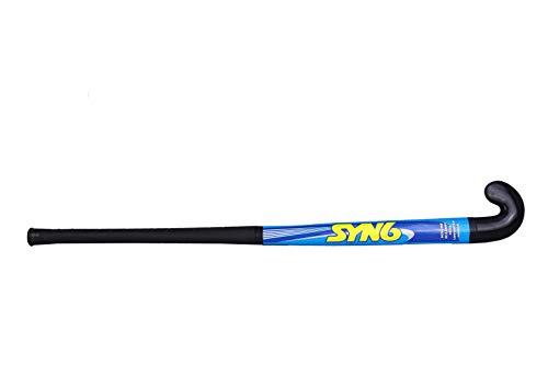 SYN6 Plastic Hockey Stick, Black