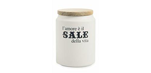 Villa d'Este Home Tivoli Idee Barattolo Sale, Gres, Bianco