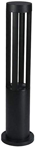Mooie decoratieve LED-lampen moderne padlamp lamp 7W 3000K warm licht tuin lamp cilinder aluminium zwart sokkel design waterdicht IP44 Way gazonlamp Lam voet