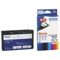 EPSON インクカートリッジ カラー(4色一体型) ICCL45 1個