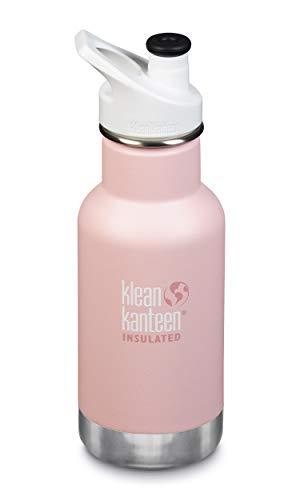 Klean Kanteen Kid Klassische Flasche Junge 12oz, Kinder, Jungen, 1005713, Rosa, 218.4 mm H x 72.9 mm W