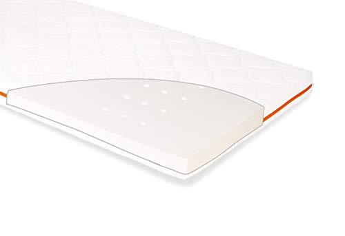 Pinolino 500065 Matratze für Kinderbetten 'Luna Up', 140 x 70 cm, weiß