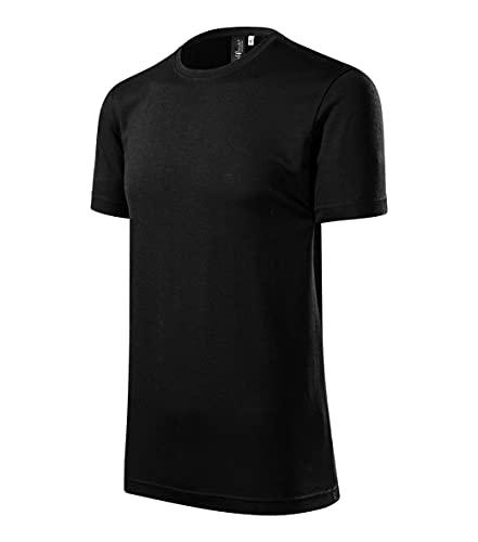 Merino Rise - Camiseta para hombre (talla 3XL), color naranja Negro 46