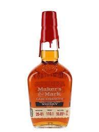 Makers Mark Cask Strength Whisky Batch No 20-01 1x70 Cl