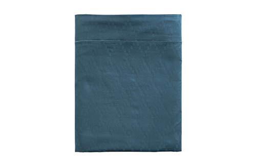Anne de Solène Drap Plat Diamond Bleu 180x290